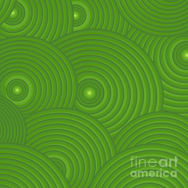 Green Abstract Artwork