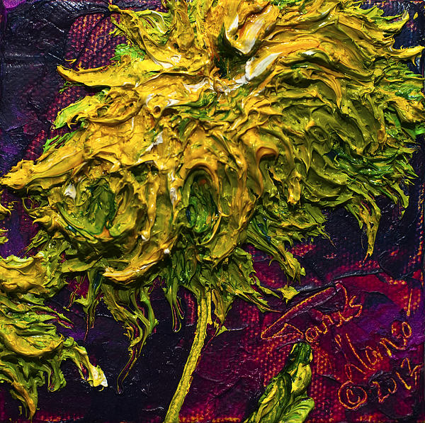 Green Mum Print by Paris Wyatt Llanso