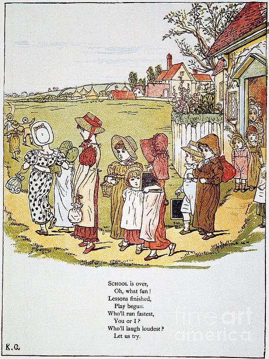 Greenaway: Illustration Print by Granger