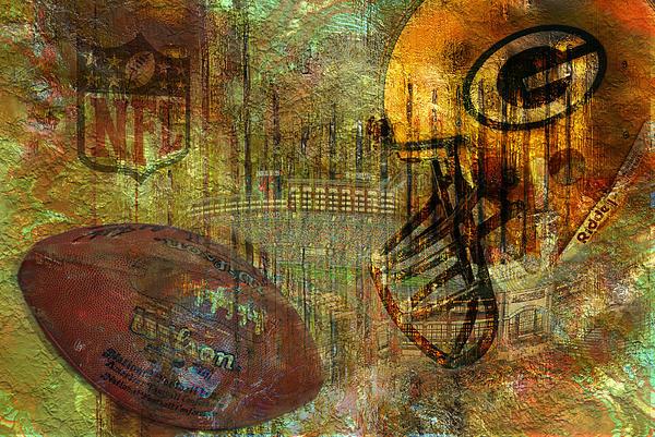 Greenbay Packers Print by Jack Zulli