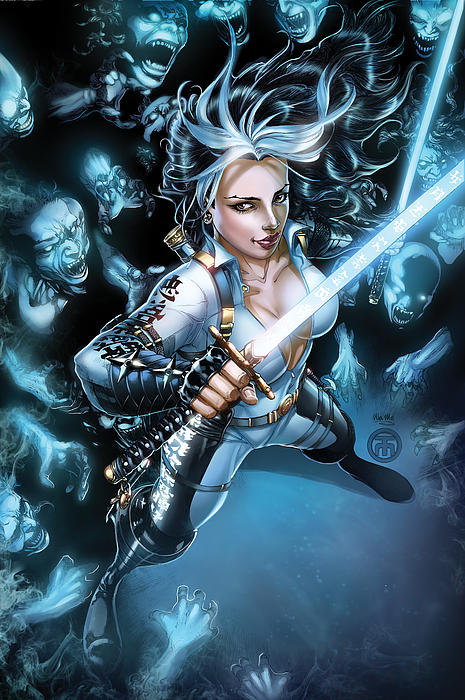 Grimm Fairy Tales Unleashed Demons 01b Print by Zenescope Entertainment