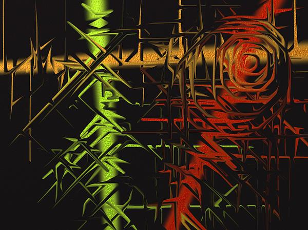 Grunge Print by Michael Jordan