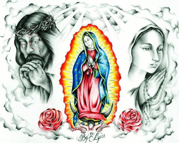 Guadalupe Print by Eddie Egesi