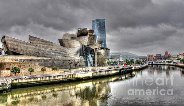Guggenheim Museum Bilbao Print by Ines Bolasini