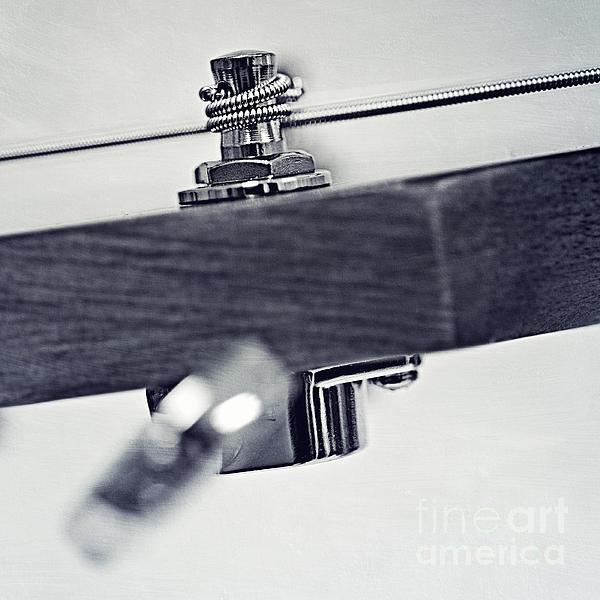 guitar V Print by Priska Wettstein