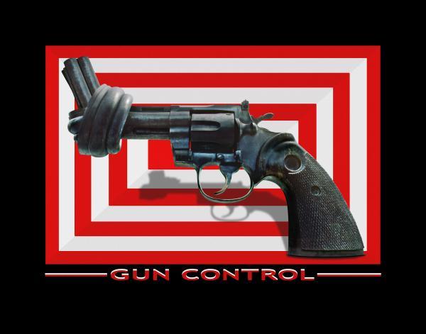 Gun Control Print by Mike McGlothlen
