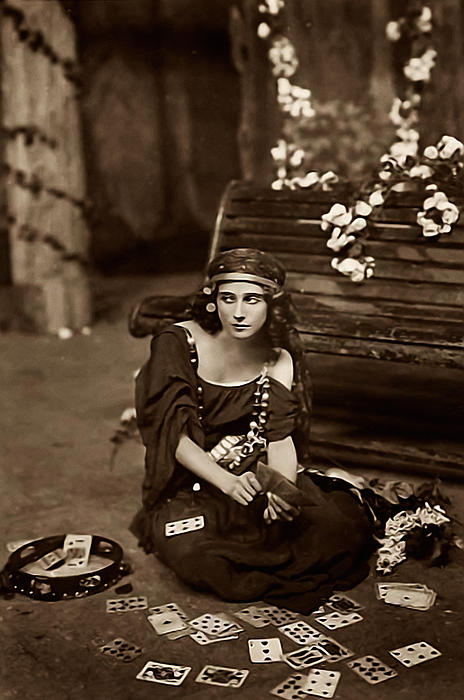 Gypsy Print by Unknown