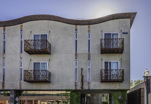 H2hotel In Healdsburg California Print by Karen Stephenson
