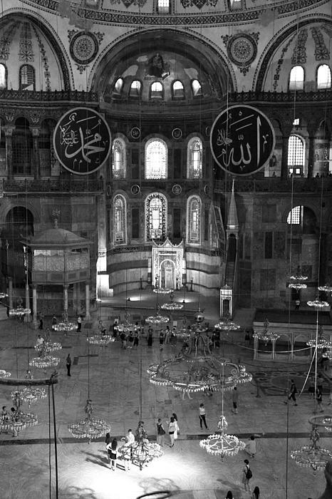 Christiane Schulze Art And Photography - Hagia Sophia Interior