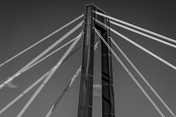 Hale Boggs Memorial Bridge Print by Andy Crawford