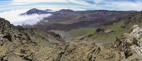 Haleakala Crater Panorama Print by Brad Scott