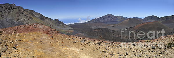 Haleakala Crater Print by Sami Sarkis