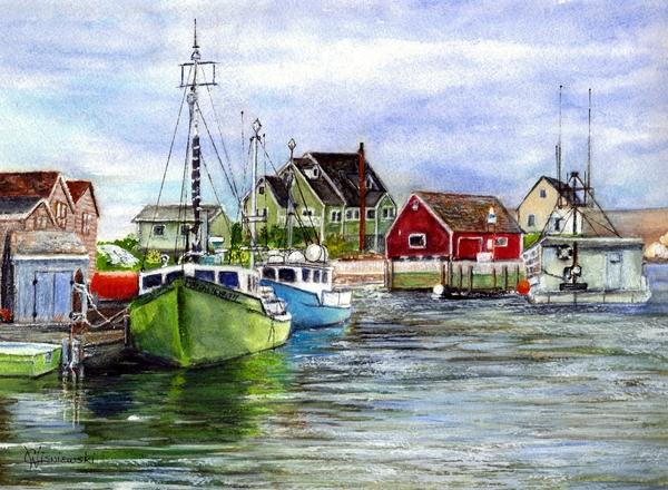 Carol Wisniewski - Halifax Nova Scotia Peggys Cove