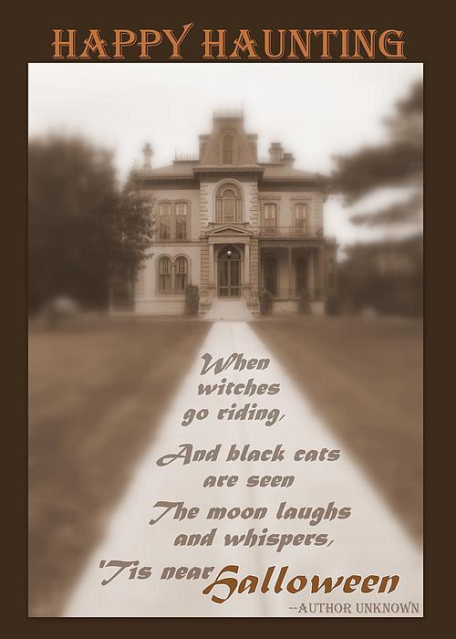 Cheryl Hardt Art - Halloween 5 x7 Greeting Card