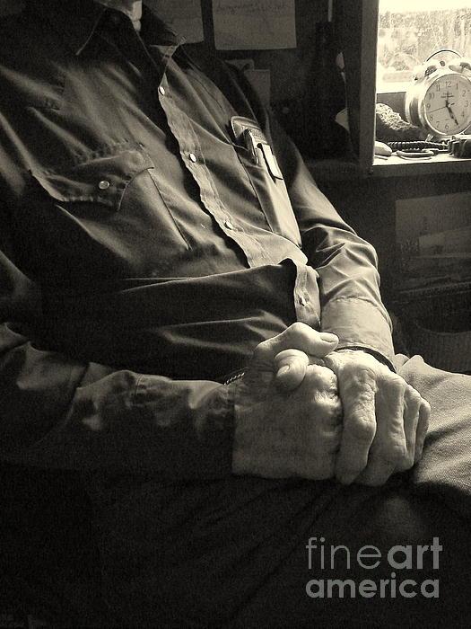 Hands Of Time Print by Joe Jake Pratt