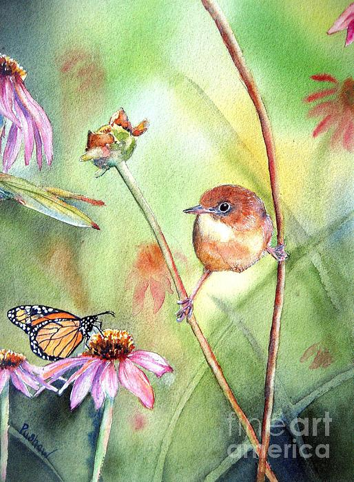 Hanging In There Print by Patricia Pushaw