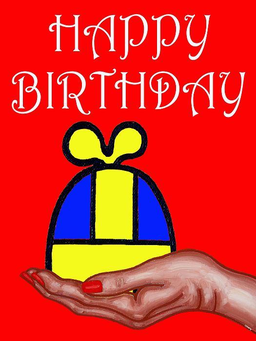 Happy Birthday 2 Print by Patrick J Murphy