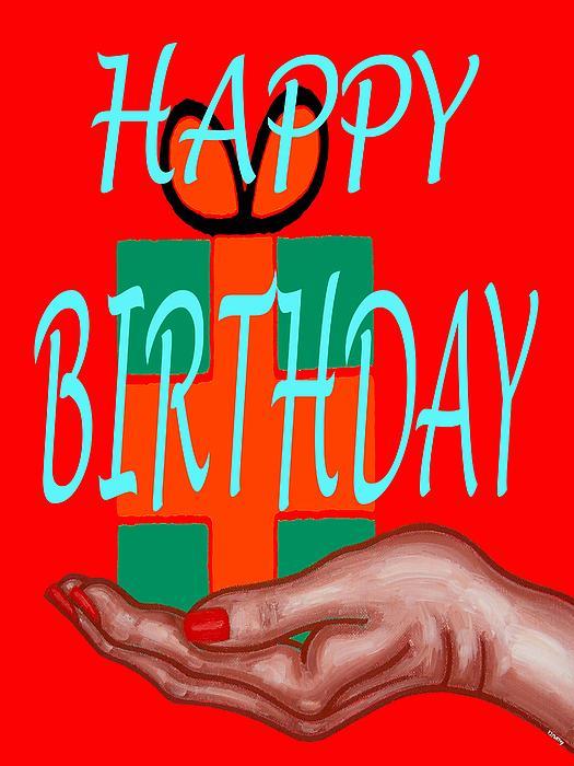 Happy Birthday 3 Print by Patrick J Murphy