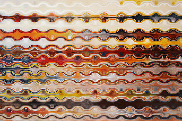 Happy Lines  Print by Andrada Anghel
