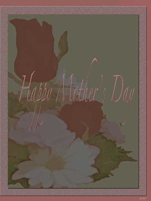 Happy Mothers Day  Print by Debra     Vatalaro