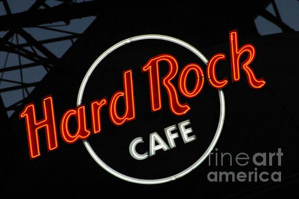 Hard Rock - St. Louis Print by Gary Gingrich Galleries