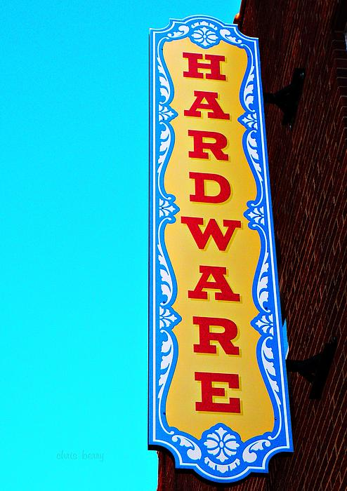Hardware Store Print by Chris Berry