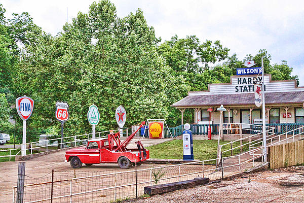 Hardy Station Print by Audreen Gieger-Hawkins