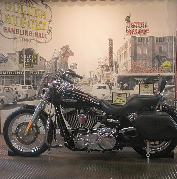 Kay Novy - Harley With Vintage Las Vegas