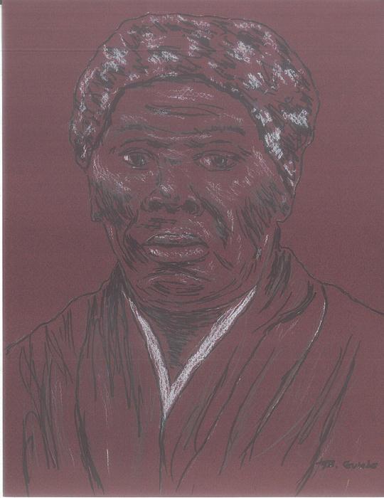 Harriet Tubman Print by Bob Gumbs