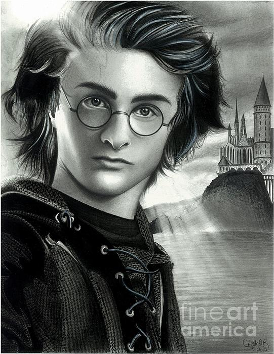 Harry Potter And The Goblet Of Fire Print by Crystal Rosene