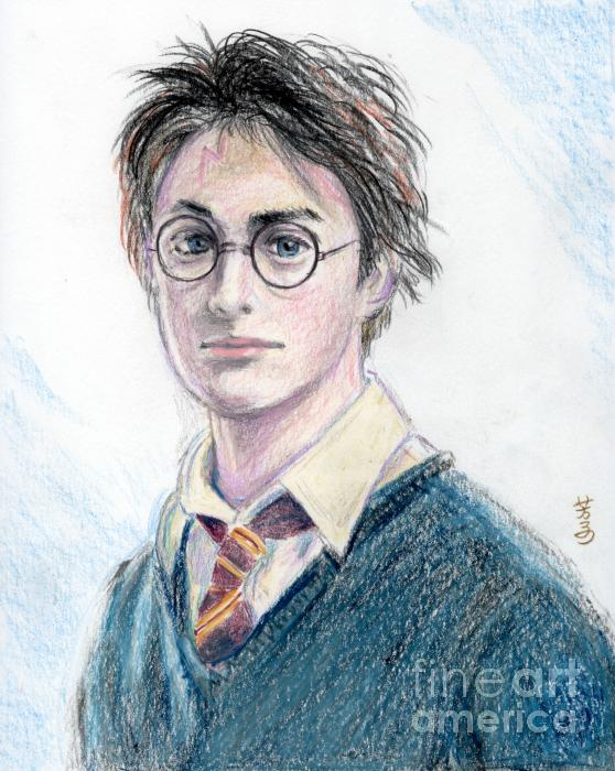Harry Potter - Daniel Radcliffe Print by Yoshiko Mishina
