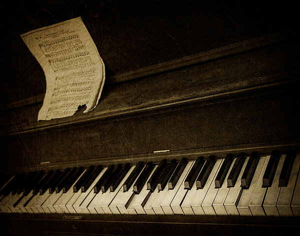 Haunted Melody Print by Amy Weiss