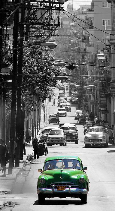 Havana 25c Print by Andrew Fare
