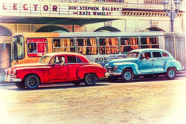 Havana Nostalgia Print by Erik Brede