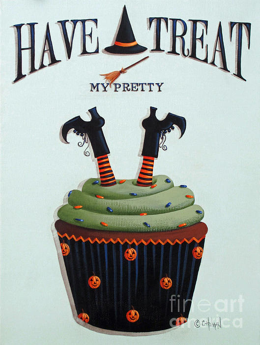 Have A Treat My Pretty Print by Catherine Holman