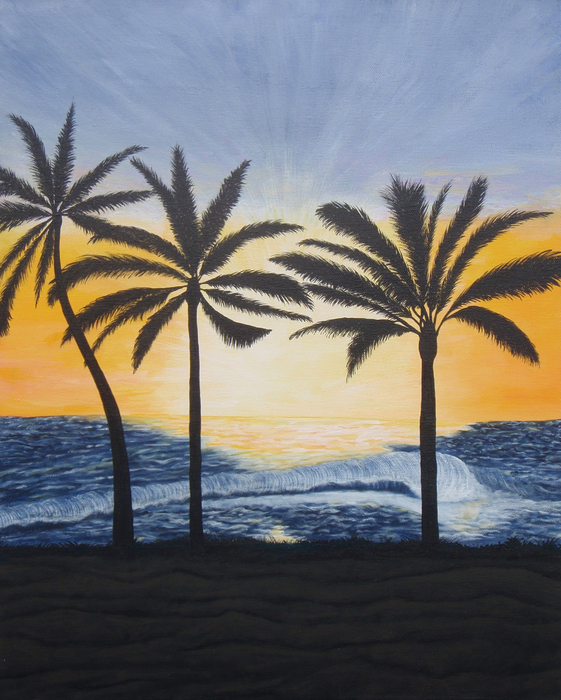 Brandy Gerber - Hawaiin Sunset