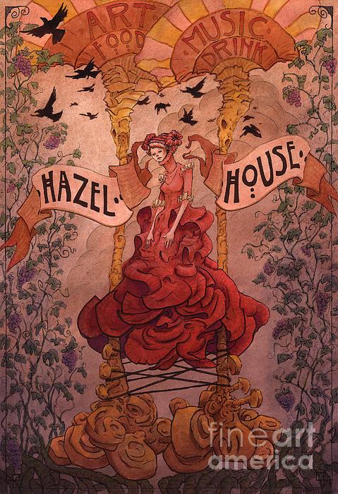 Hazel House Print by Ethan Harris