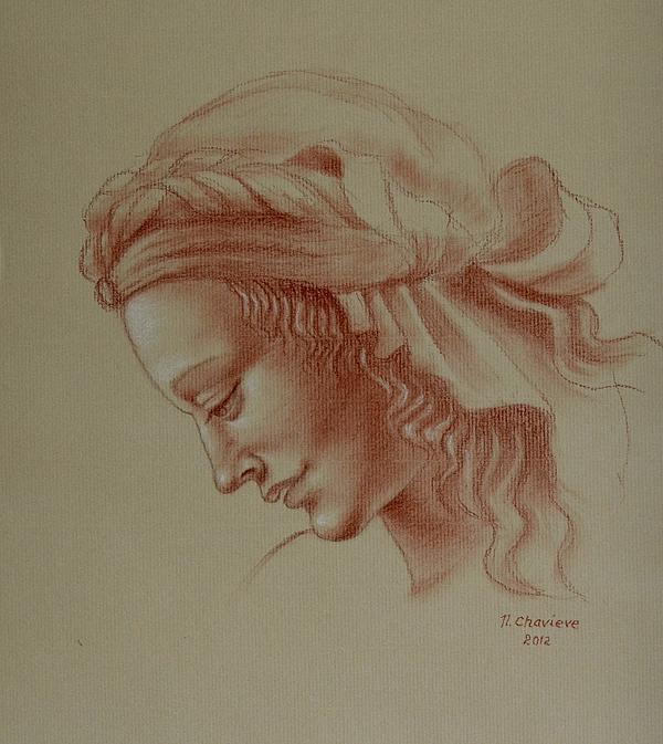 Nathalie Chavieve - Head study