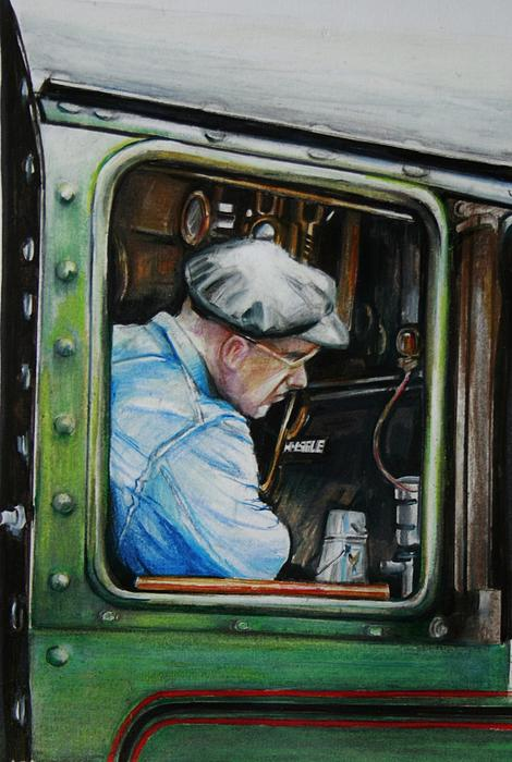 Jean Cormier - Heading Home on the Severn Valley Railway