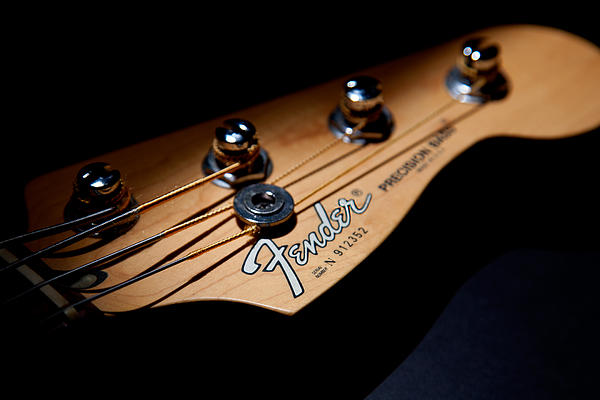 Headstock Print by Peter Tellone