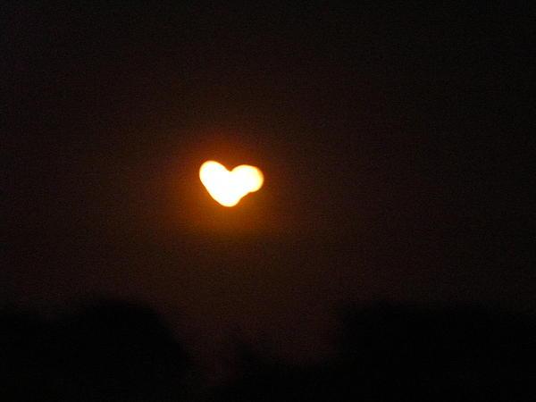 Heart Lightning Print by Cim Paddock