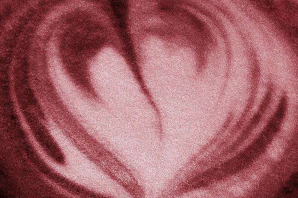 Heart Print by Nina Peterka