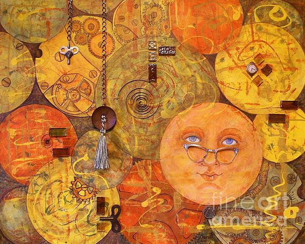 Heartbeat In Time 1 Print by Jane Chesnut