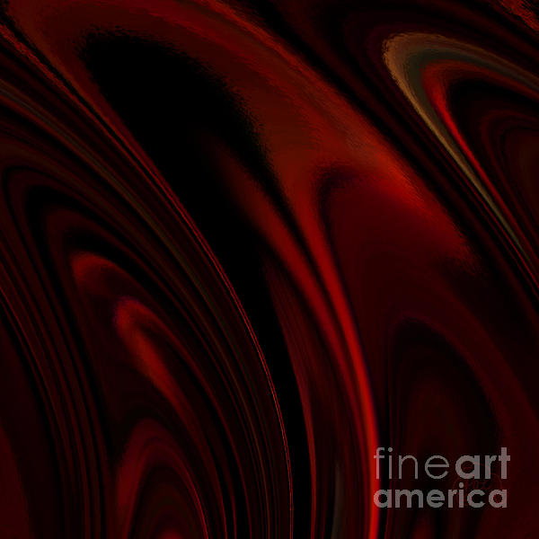 Heat Rings Print by Patricia Kay