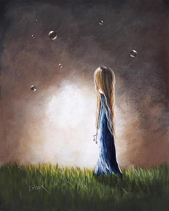 Heaven Heard Her Prayers Tonight By Shawna Erback Print by Shawna Erback