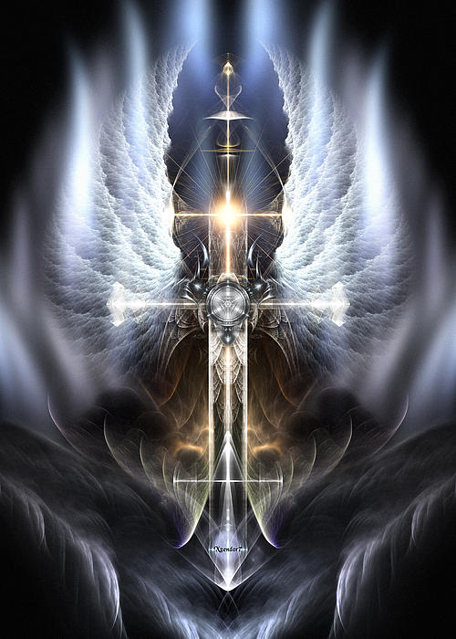 Rolando Burbon - Heavenly Angel Wings Cross