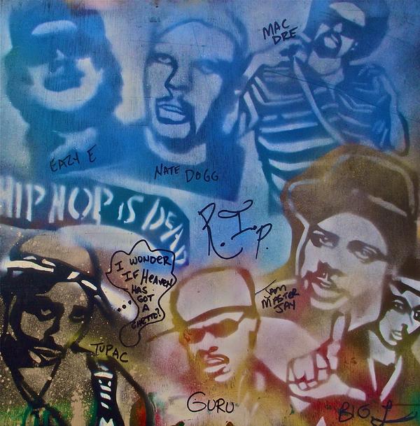 Heavens Ghetto 2 Print by Tony B Conscious