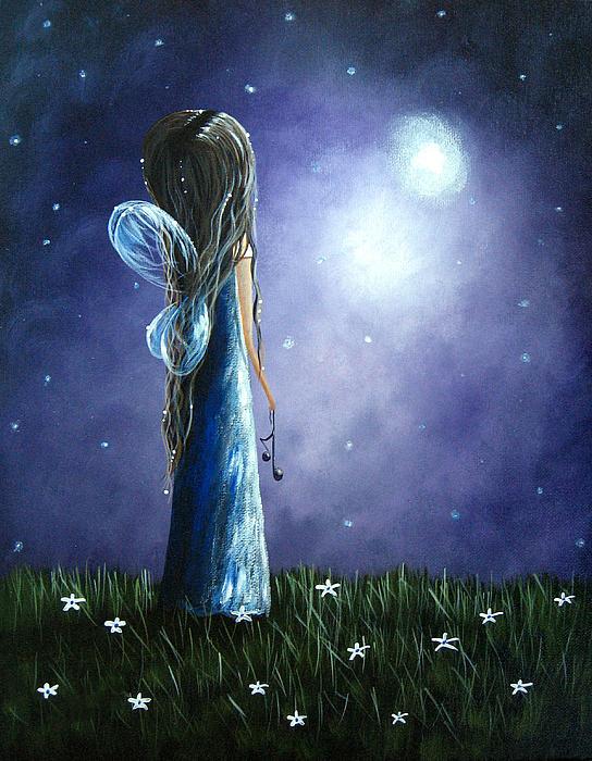 Heaven's Little Helper By Shawna Erback Print by Shawna Erback