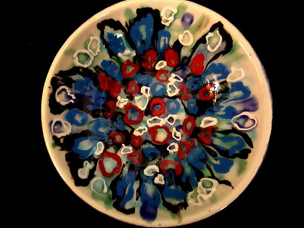 Heavy Textured Bowl Print by Martha Nelson