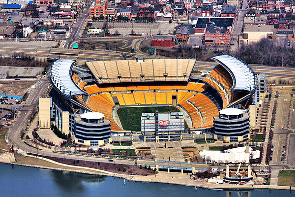 Heinz Field Aerial Print by Mattucci Photography
